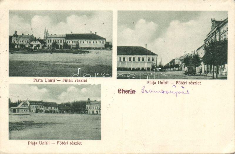 Gherla, main square, Szamosújvár, Főtér