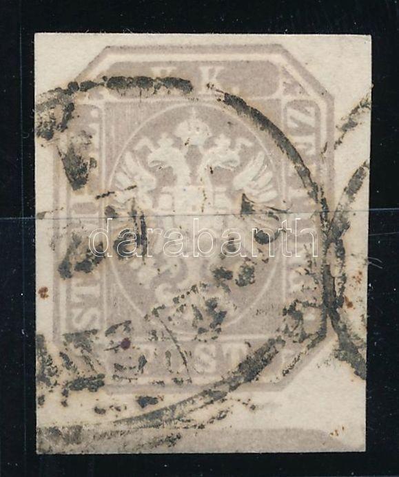 Newspaper stamp greyish brown, nice print