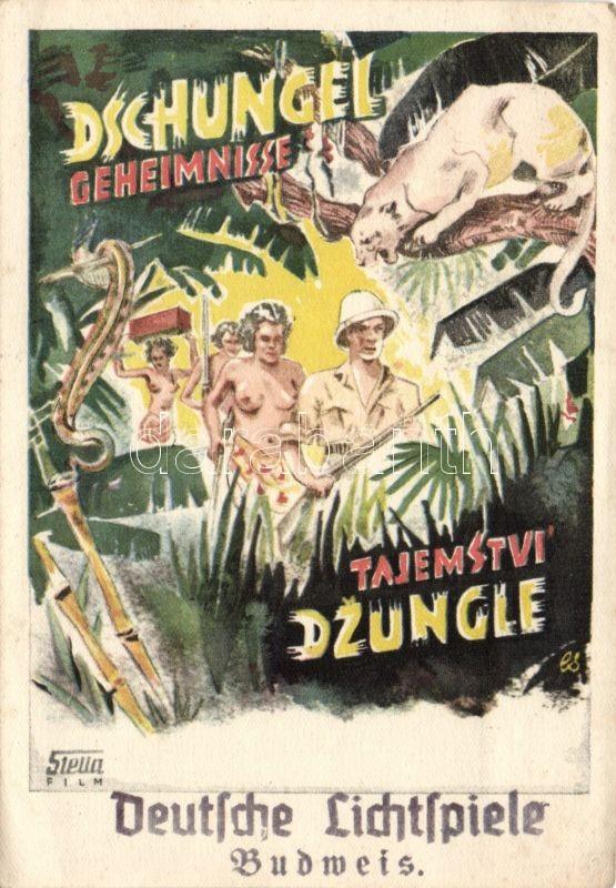 Dschungel-Geheimnisse / movie poster advertisement, A dzsungel titkai, film plakát, reklám