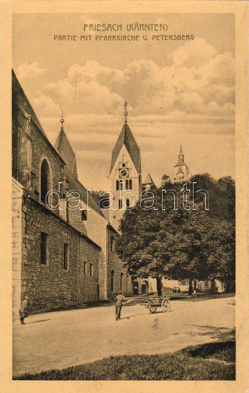 Friesach plébániatemplom, Friesach Pfarrkirche, Petersberg