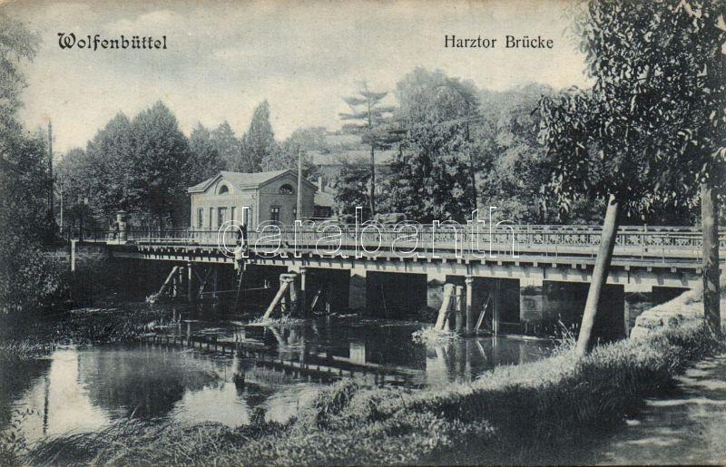Wolfenbüttel, Harztor Brücke / bridge