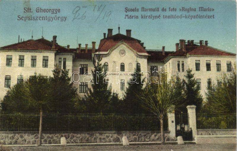 Sfantu Gheorghe, Scoala Normala de fete Regina Maria / teachers training institution, Sepsziszentgyörgy, Mária királyné tanítóképző intézet