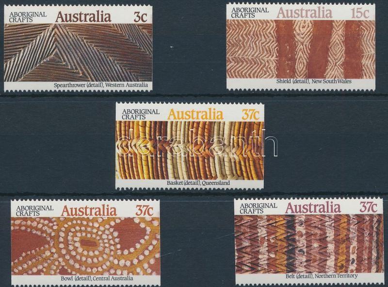 Craftsmanship of the Aborigines of Australia set, Ausztrál őslakos kézművesség sor