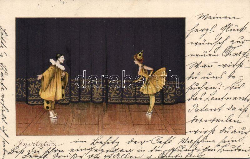 Circus, clown, M.M. Vienne Nr. 147. litho