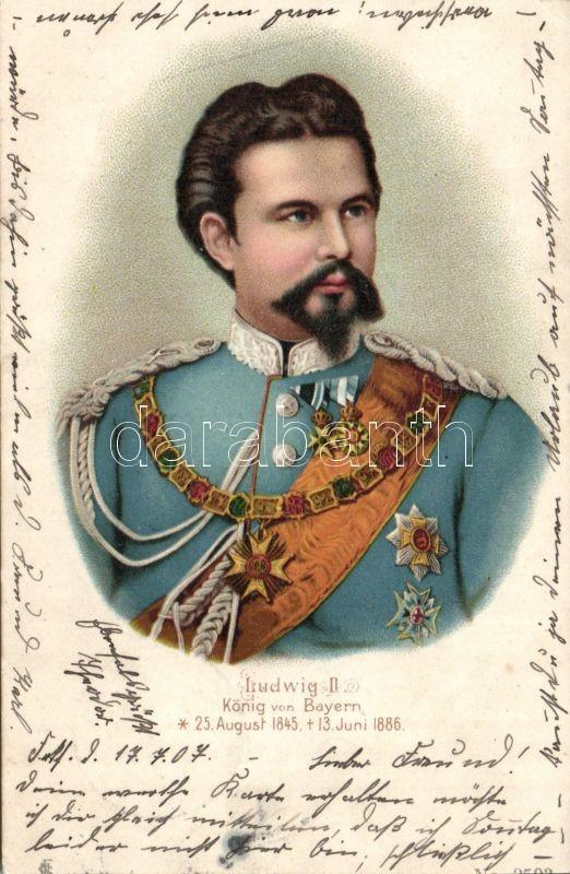 Ludwig II, litho