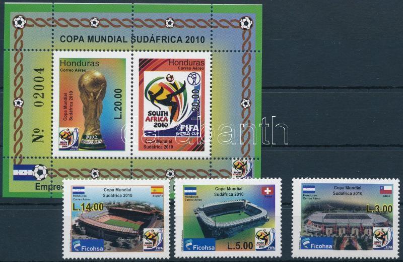 Football World Cup, South Africa (II) set + block, Labdarúgó-világbajnokság, Dél-Afrika (II) sor + blokk