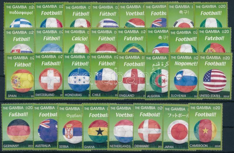 Football World Cup, South Africa set, Labdarúgó-világbajnokság, Dél-Afrika sor