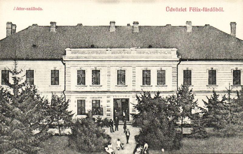 Baile Felix, hotel Victor, Félixfürdő, Viktor szálloda