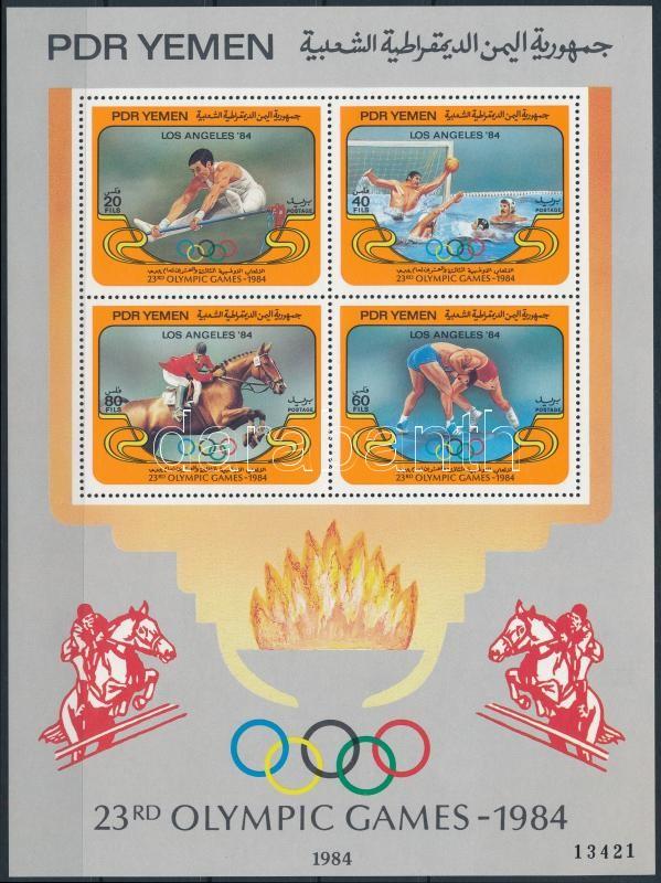 Nyári Olimpiai, Los Angeles blokk, Summer Olympics Los Angeles block