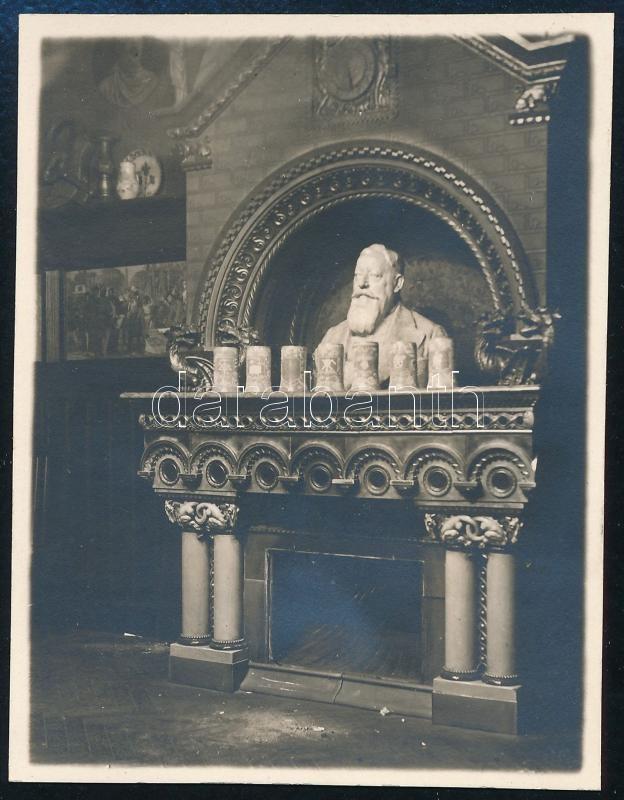 cca 1929 Kinszki Imre (1901-1945) budapesti fotóművész hagyatékából, jelzés nélküli vintage fotó (ez a szerző 230. sz. felvétele, 7,6x5,9 cm