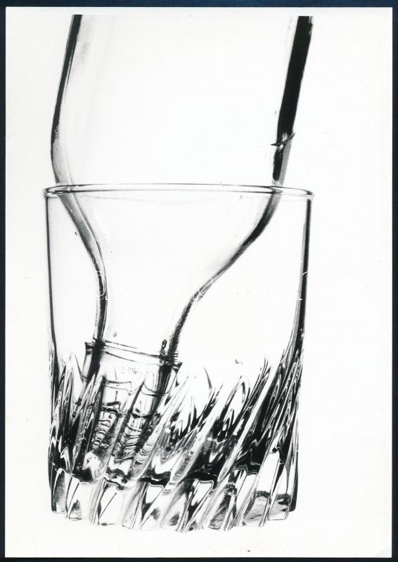 cca 1995 Szögi László feliratú vintage fotó, 18,3x12,9 cm