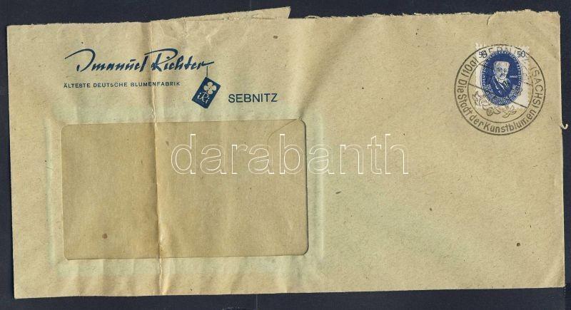 Academy of Sciences on franked letter, Tudományos Akadémia egyes bérmentesítés levélen