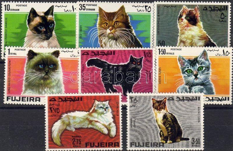 Cats set, Macskák sor, Katzen Satz