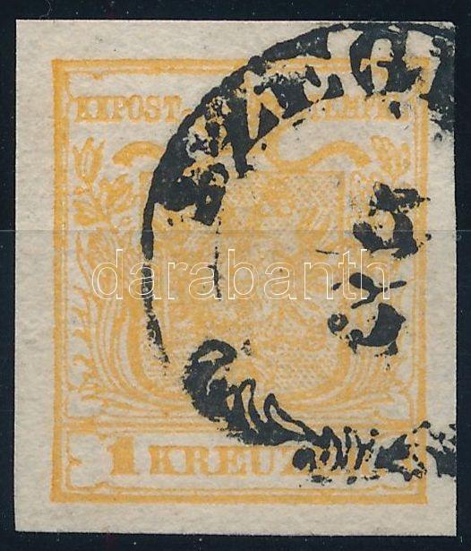 1kr HP Ib orange, with nice margins