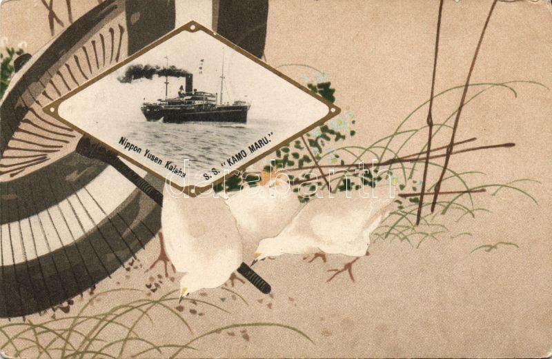 SS Kamo Maru, Nippon Yusen Kaisa, Art Nouveau