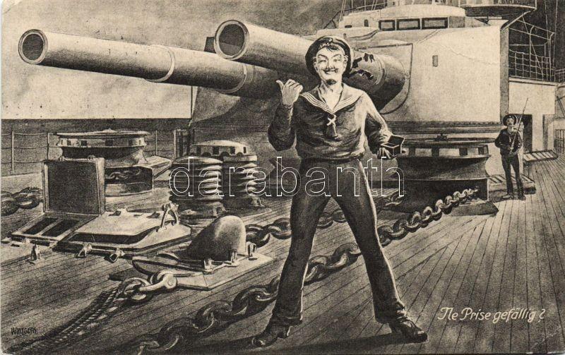 German navy humour s: Wintgens, Német hadi tengerész humor s: Wintgens