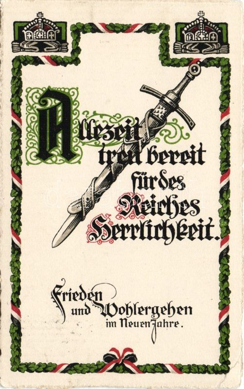 Military New Year, sword, Katonai újév, kard