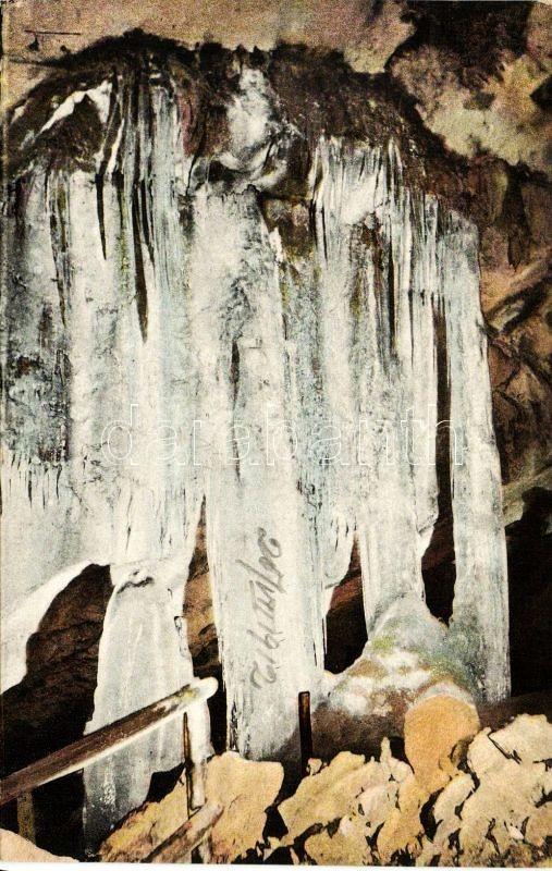 Dobsina, ice cave, Orgel, Dobsina, jégbarlang, Orgona