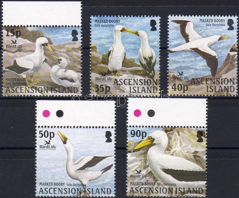 Birdlife International, birds normal and margin stamps (set), Birdlife International, madarak normál és ívszéli bélyegek (sor), Birdlife International, Vögel normale Marken und Marken mit Rand (Satz)
