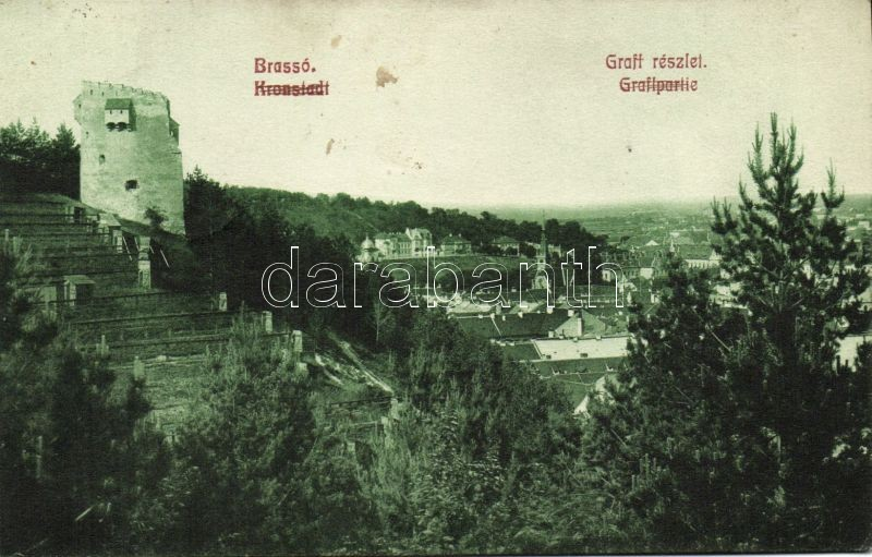 Brasov, Kronstadt; Graft bastion, Brassó, Graft bástya