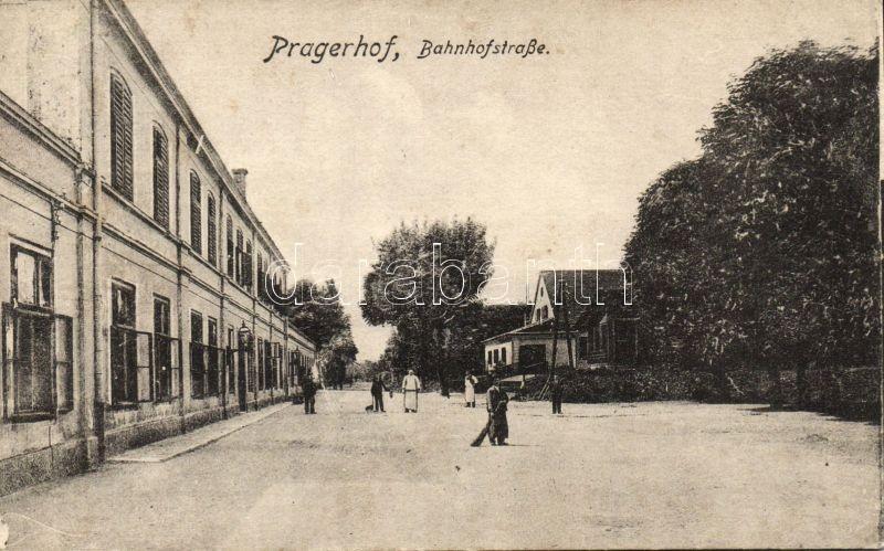Pragersko, Pragerhof; Bahnhofstrasse / railway station street