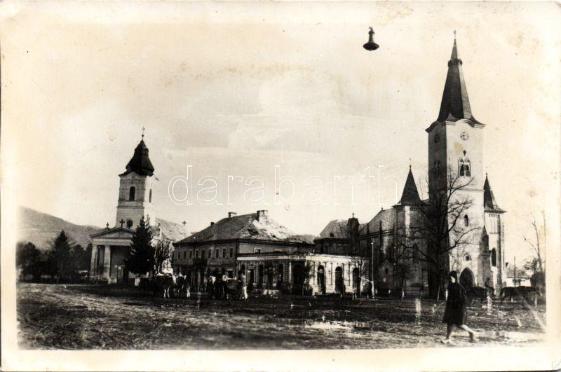 Seini, market place, shop, Színérváralja, Piac tér, Szirmay József üzlete