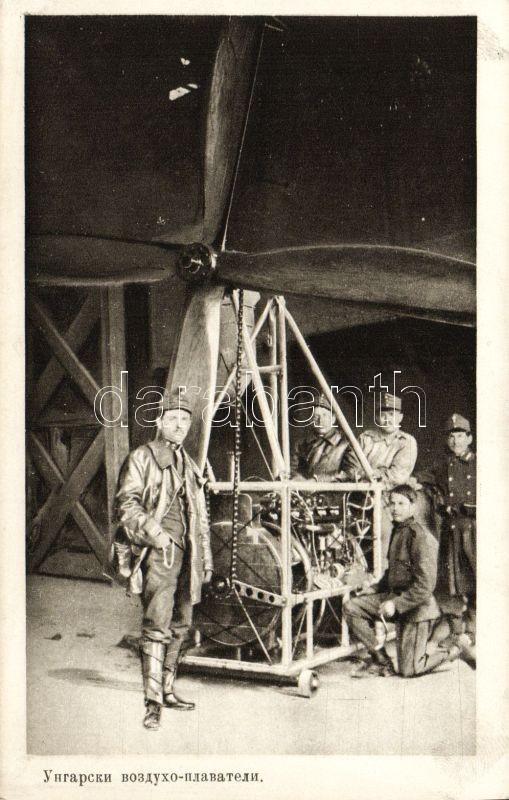 WWI Hungarian ballonists, Első világháborús magyar léghajósok