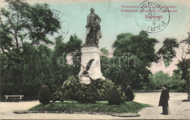 Budapest XIV. Washington szobor