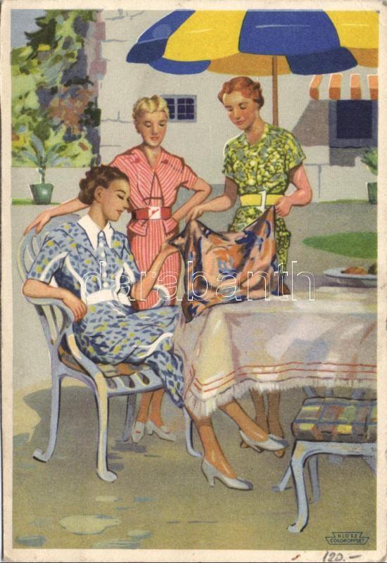 Indanthren colour advertisement, Indanthren festék reklám 'Klösz'