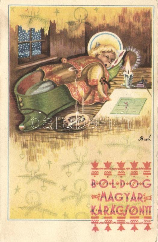 Christmas, Hungarian folklore  s:Bozó, Karácsony, magyar folklór s: Bozó