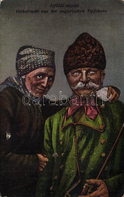 Hungarian folkwear from Great Hungarian Plain, Alföldi népviselet, Erdélyi felvétele