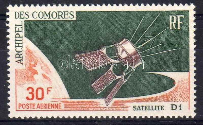 "D1 French Satelite, D1 francia műhold, Der französische Satellit ""D 1"""