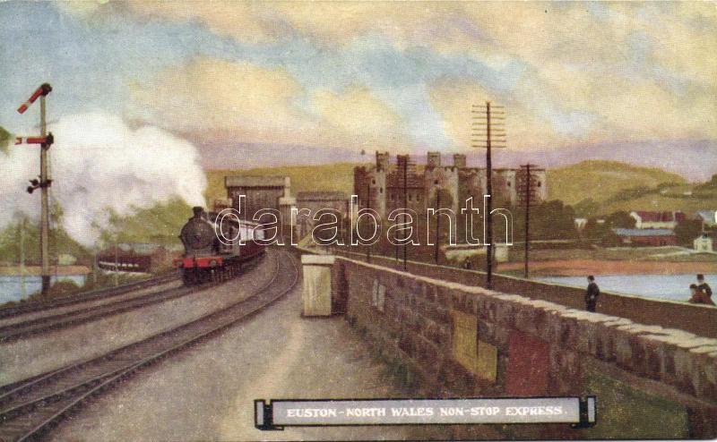 Euston-North Wales express locomotive