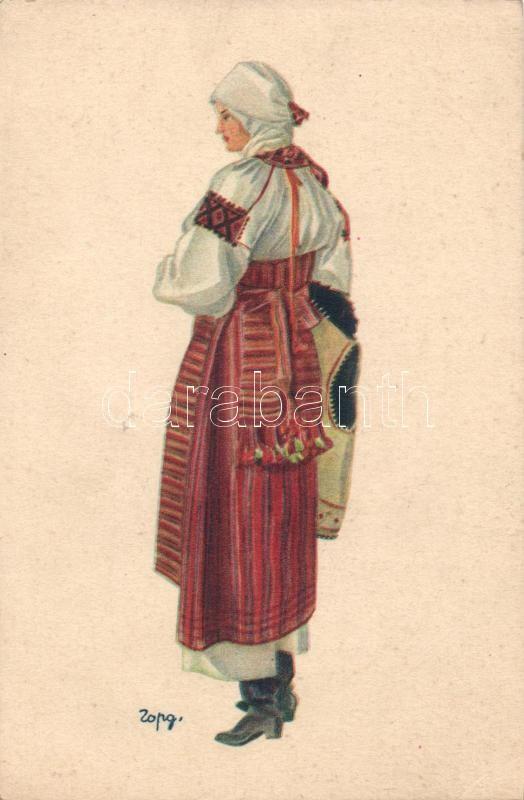 Ukrainian folklore from Dniester Valley s: Hordynskyj, Ukrán folklór a Dnyeszter völgyből