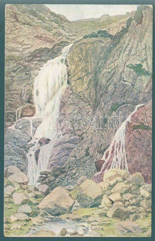 Tatra, waterfall, Tátra, vízesés