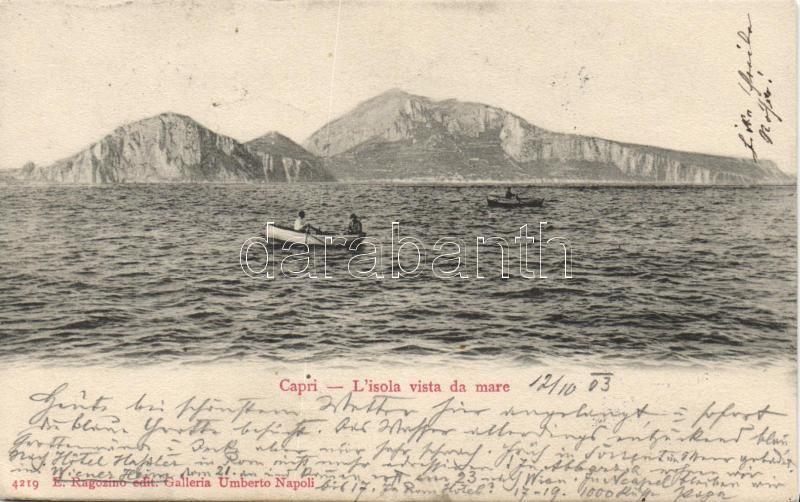 Capri, boat