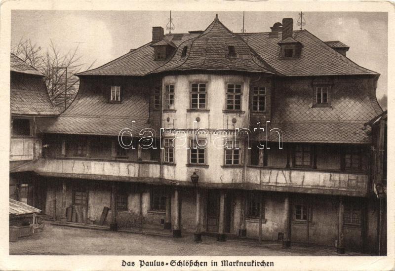 Markneukirchen Paulus Schlößchen / castle, Markneukirchen Paulus Schlößchen / kastély