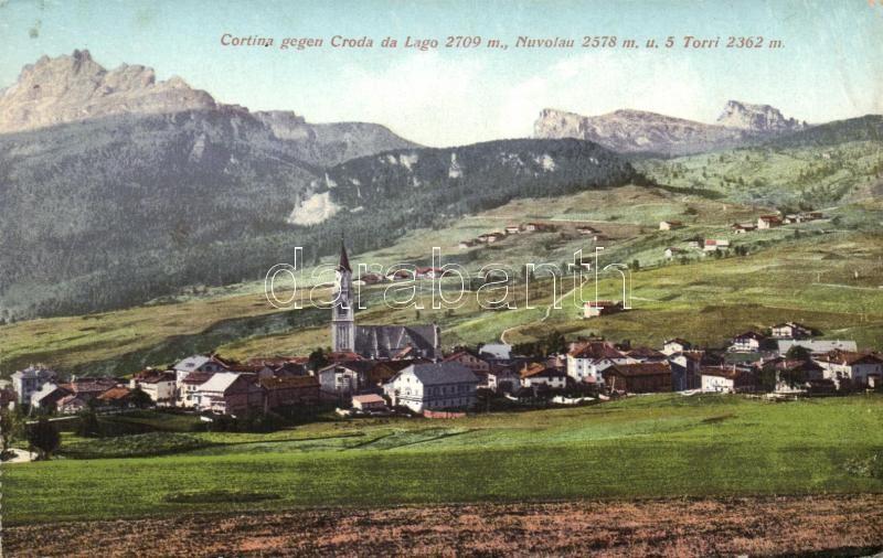 Cortina d'Ampezzo, Croda da Lago, Nuvolau, Torri / mountains