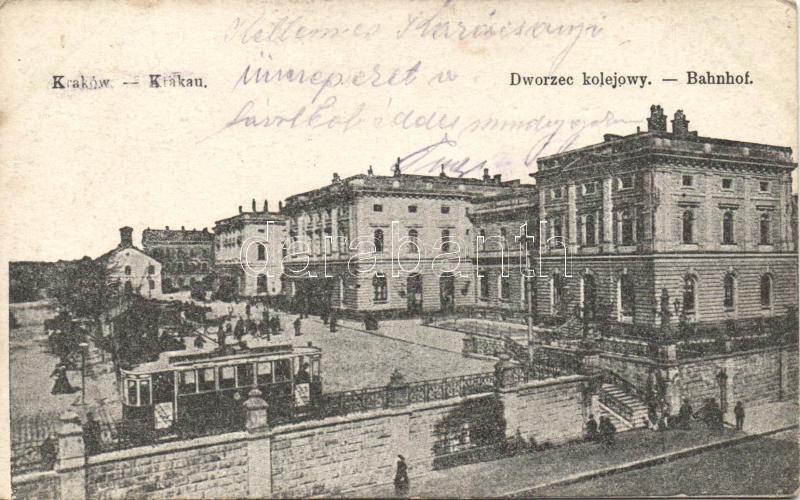 Kraków railway station, Krakkó vasútállomás