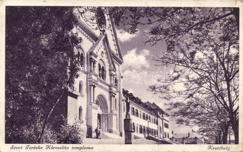 Keszthely church, Keszthely, Szent Kármelita templom