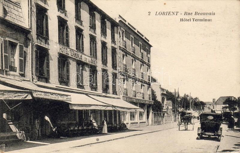 Lorient, Beauvais street, Hotel Terminus