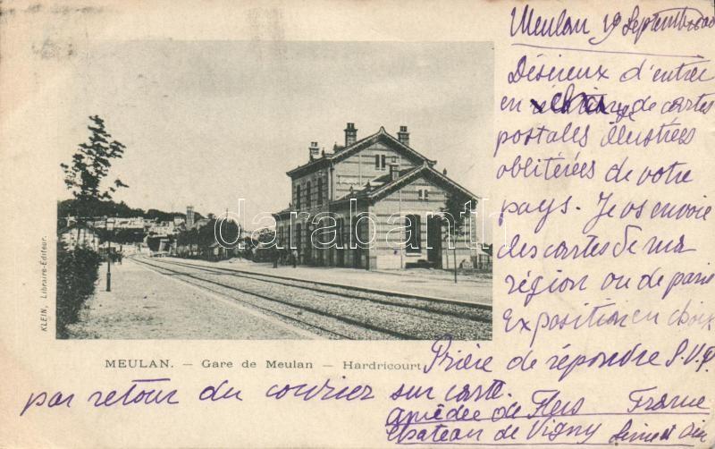 Meulan, Gare de Meulan / railway station