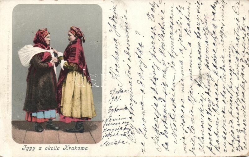 Lengyel folklór, Krakkó, Polish folklore from Kraków