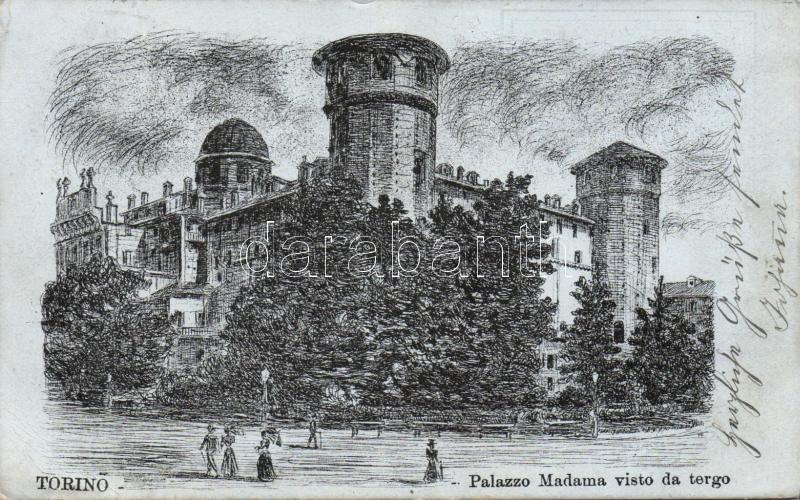 Turin, Torino; Palazzo Madama / palace
