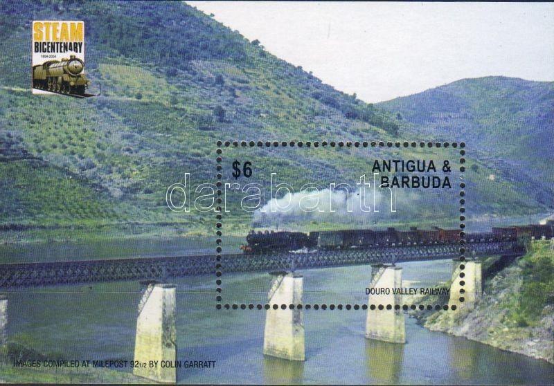 200 years of steam locomotive block, 200 éves a gőzmozdony blokk, Dampflokomotive seit 200 Jahren Block