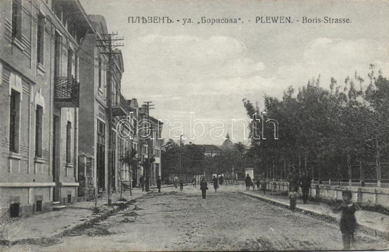 Pleven, Plewen; Boris-Strasse / street
