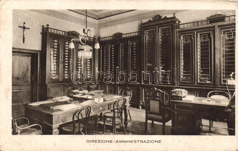 San Colombano al Lambro, Casa di Salute Fatebenefratelli, Direzione Amministrazione / hospital, director's office, interior