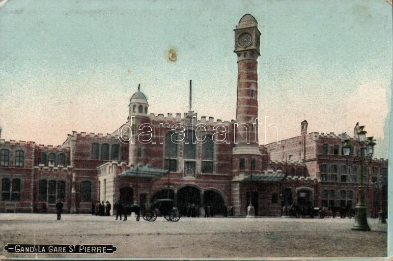 Ghent, Gand; La Gare St Pierre / railway station