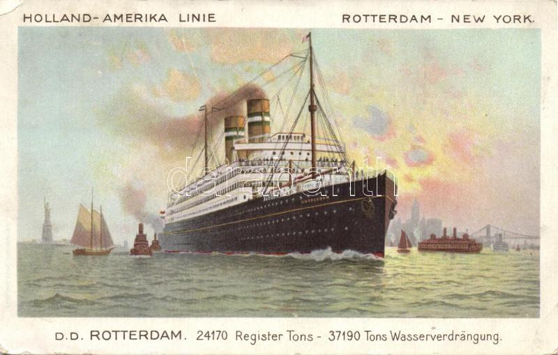 Holland-Amerika line, Rotterdam-New York, SS Rotterdam