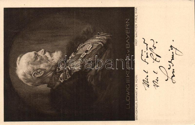 Ludwig III of Bavaria pinx. Prof. Walther Firle